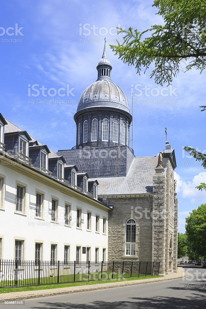 Ursulines Monastery inTrois-Rivière, Quebec, Canada royalty-free stock photo