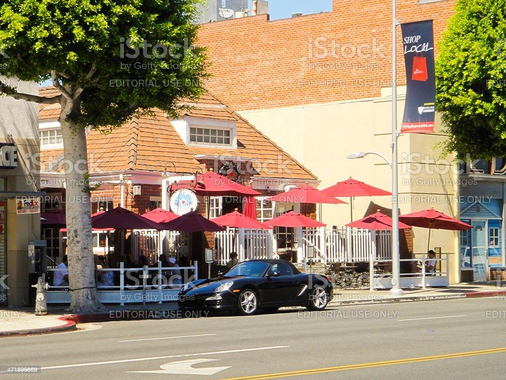 Urth Cafe royalty-free stock photo