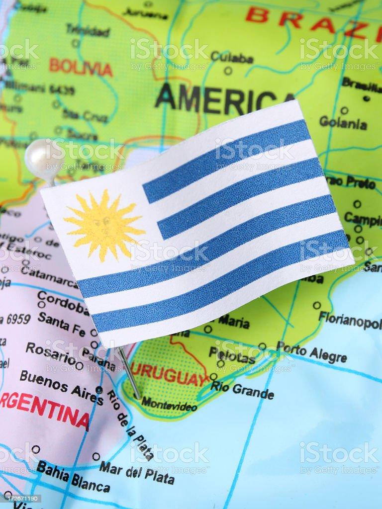 Uruguay royalty-free stock photo
