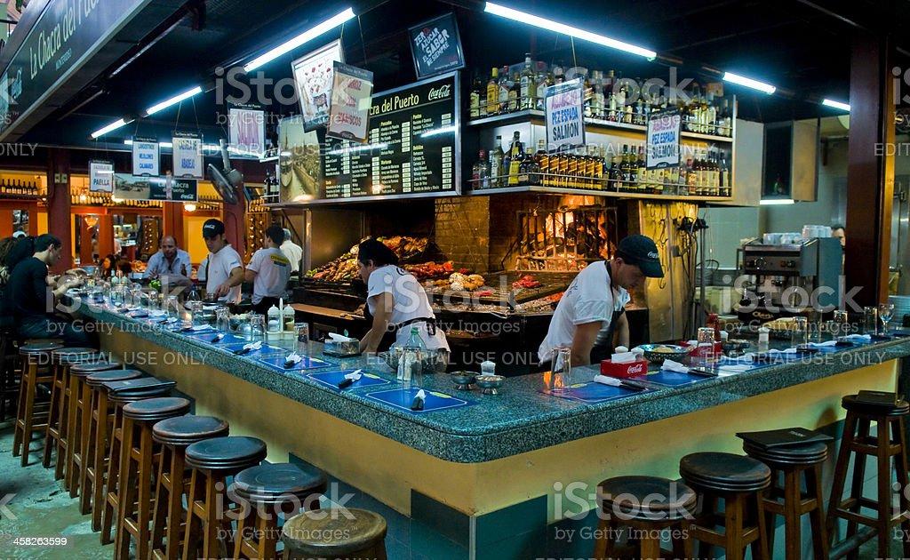 ウルグアイのレストラン ロイヤリティフリーストックフォト