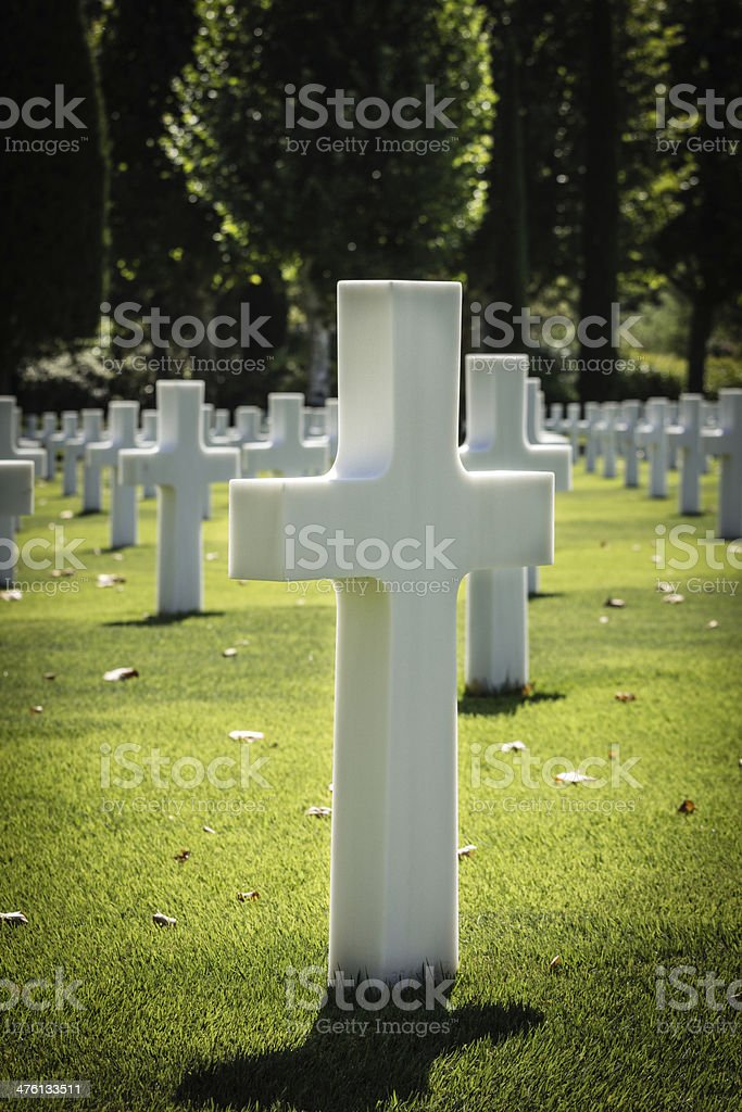 Us Army Cemetery stock photo