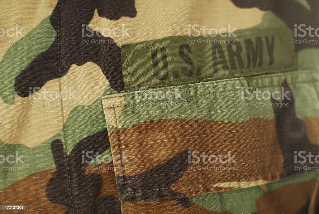 us army pocket royalty-free stock photo