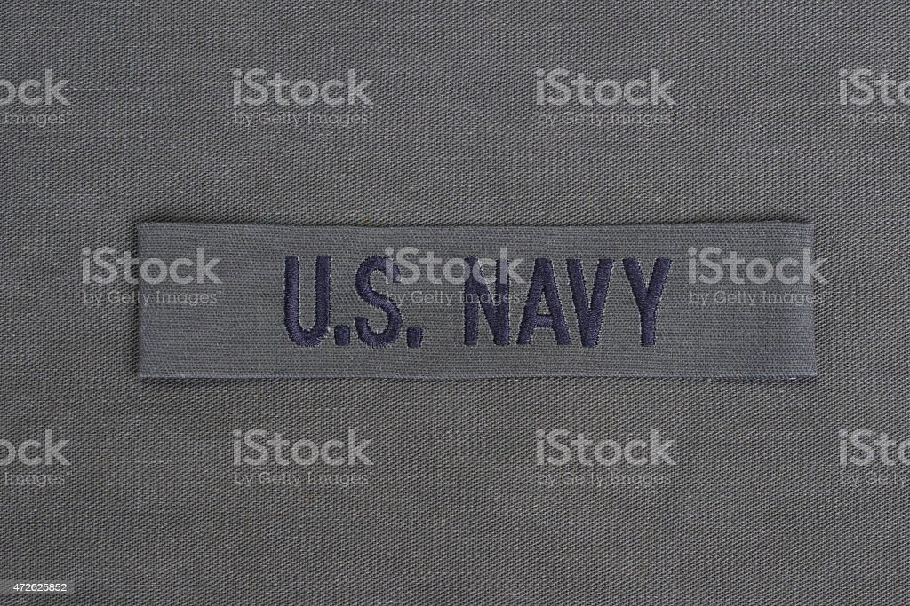 us army uniform with blank dog tags stock photo