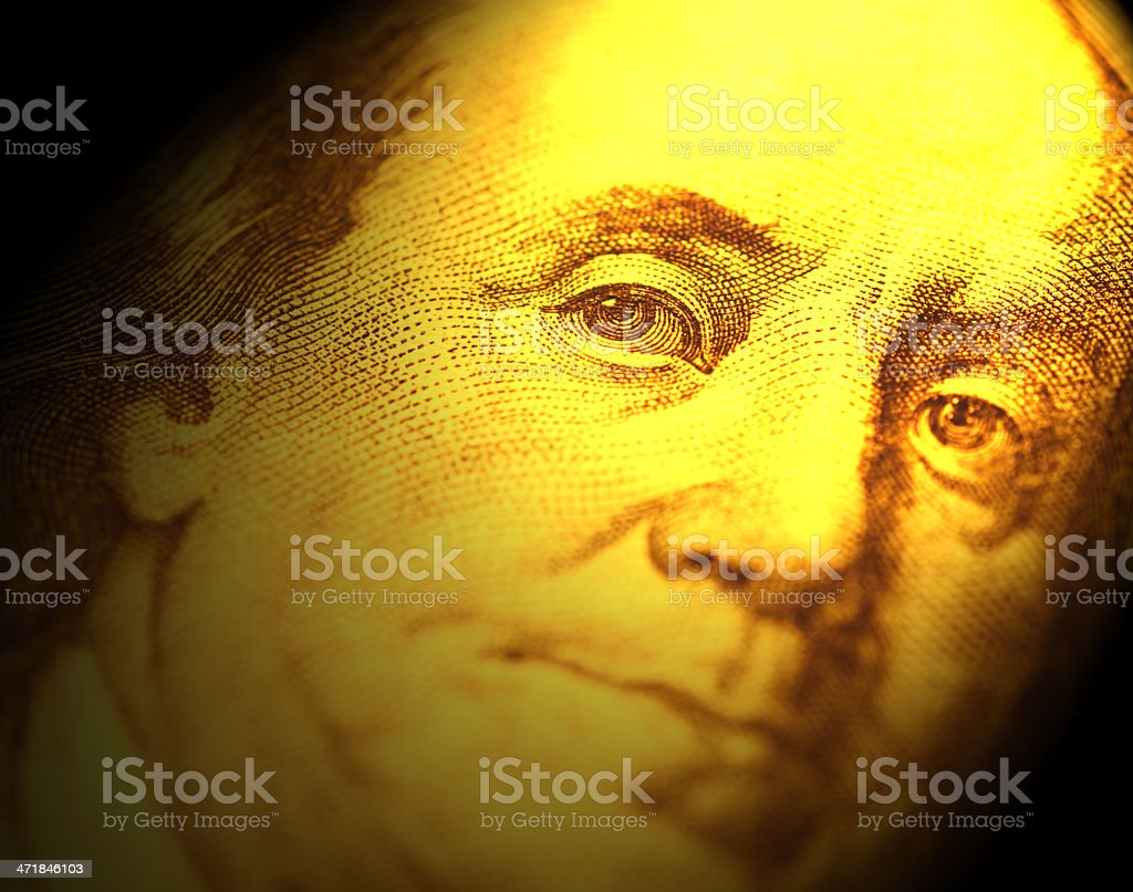 Us Dollar royalty-free stock photo