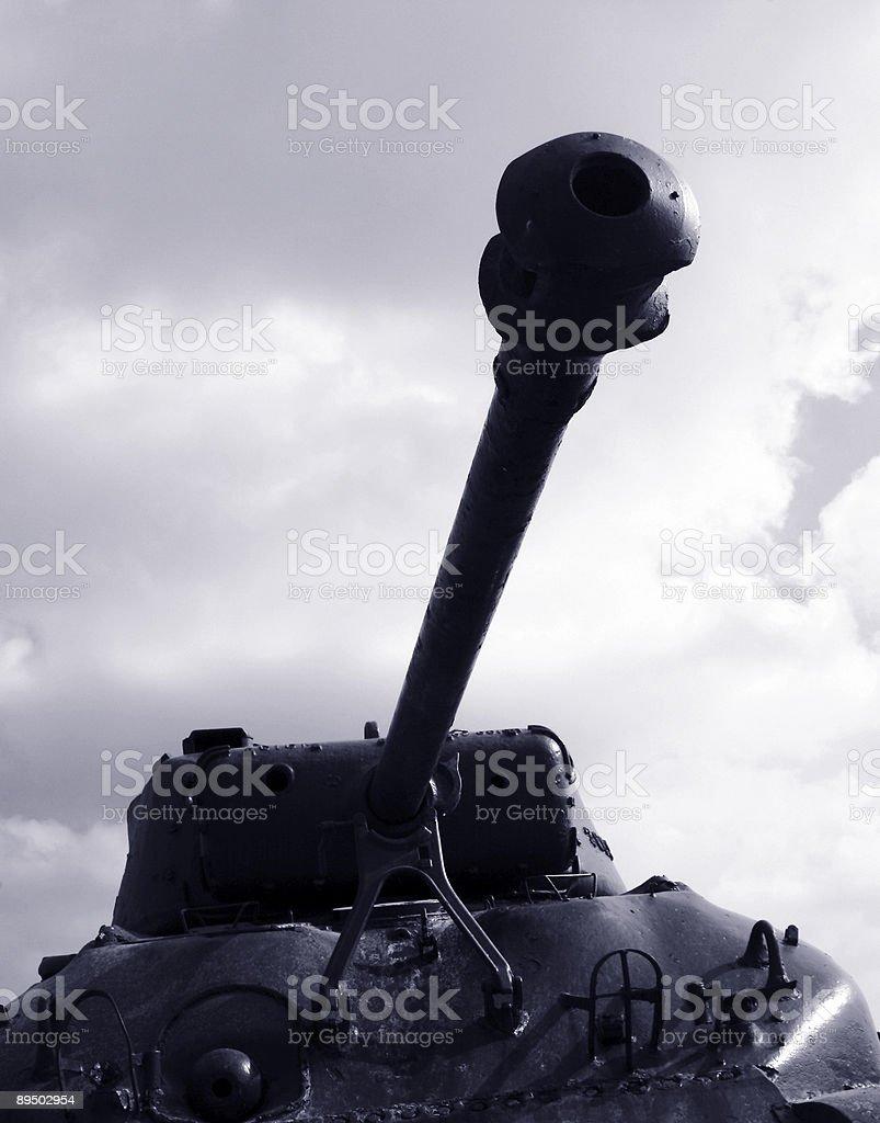 us tank royalty-free stock photo