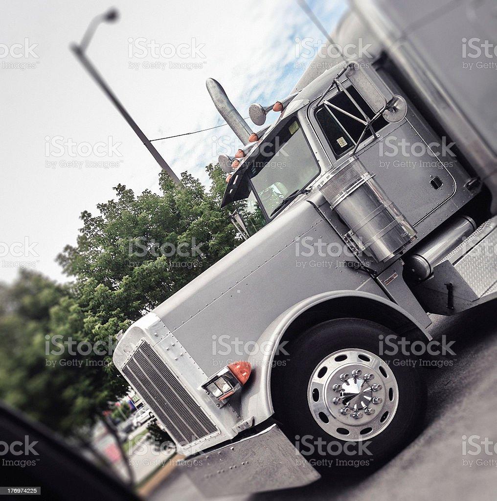 Us truck closeup royalty-free stock photo