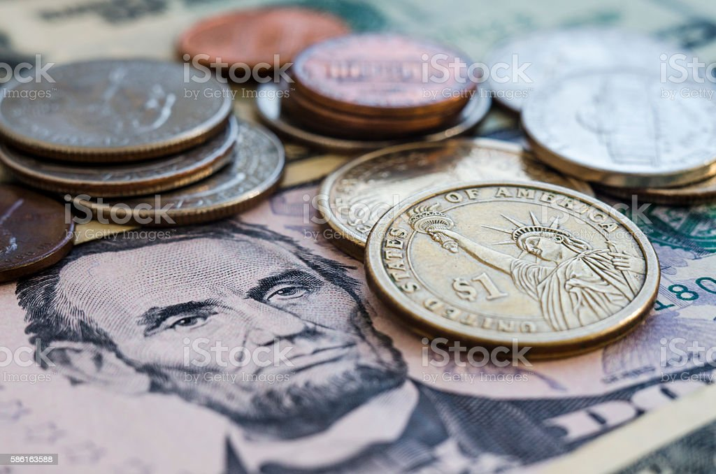 usa money stock photo