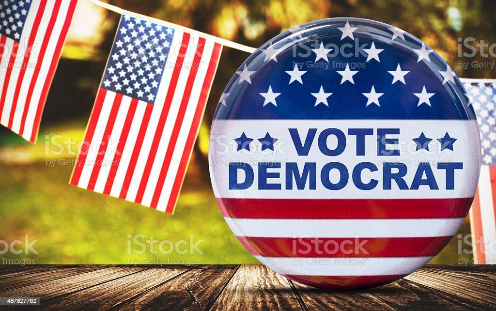 usa presidential election background stock photo