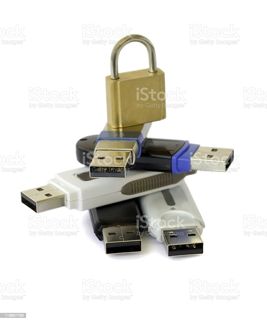 usb flash disk royalty-free stock photo