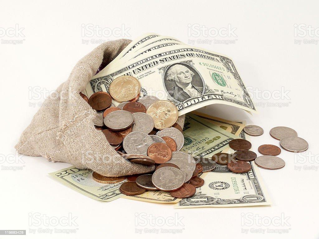 us-dollars stock photo