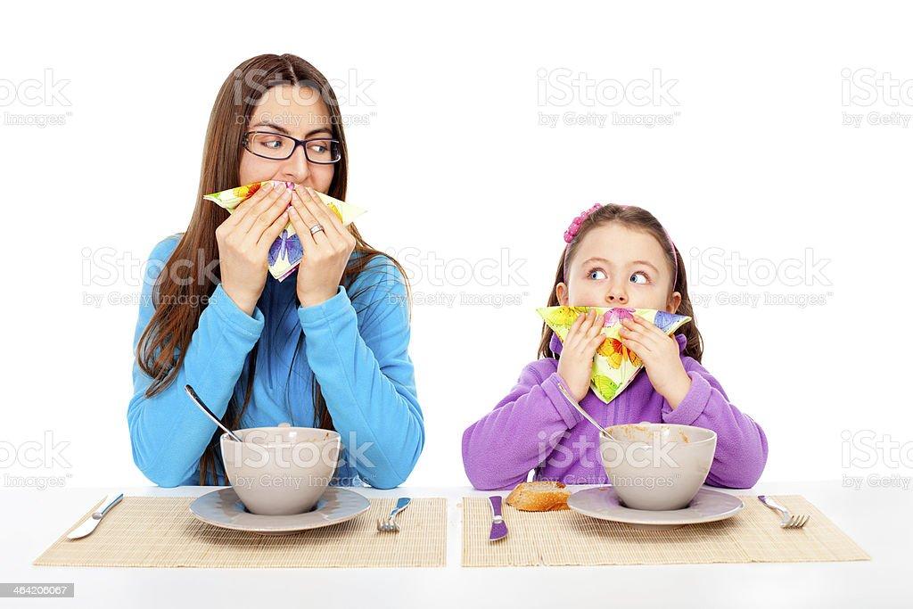 Use handkerchiefs stock photo