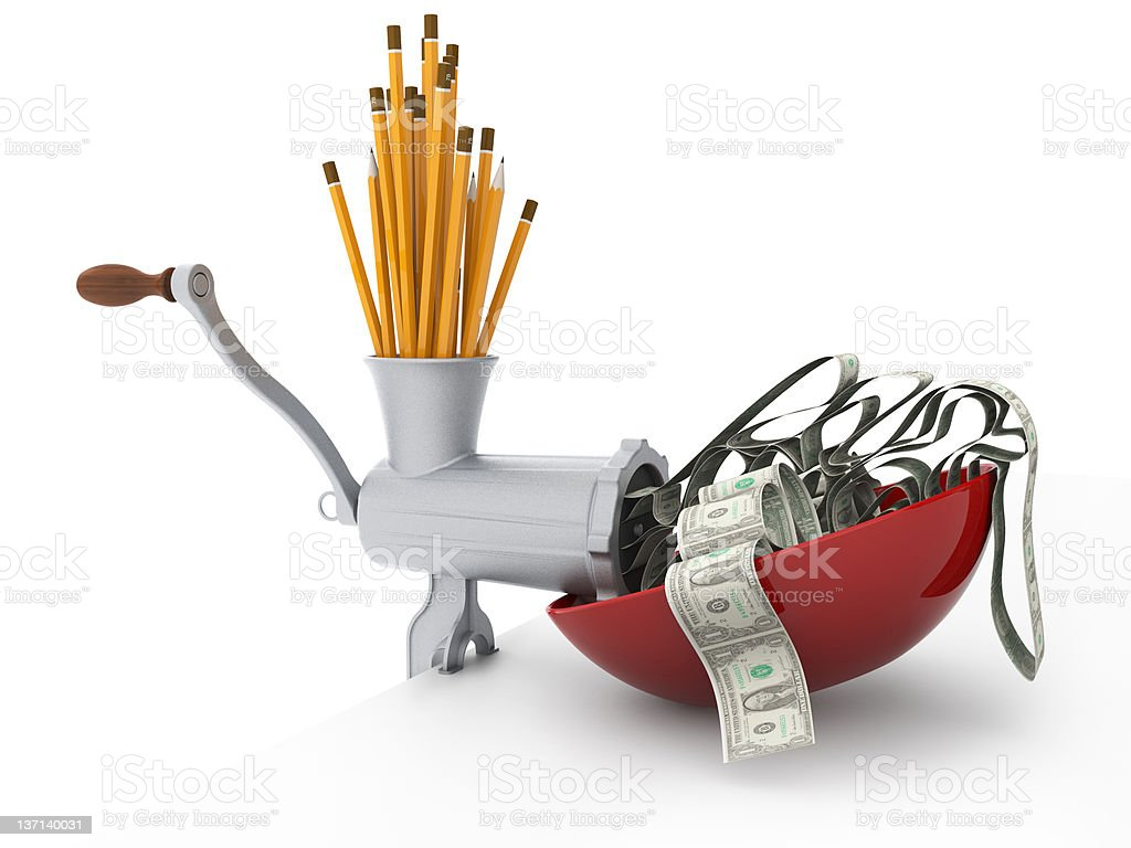 Use your immagination and make money royalty-free stock photo