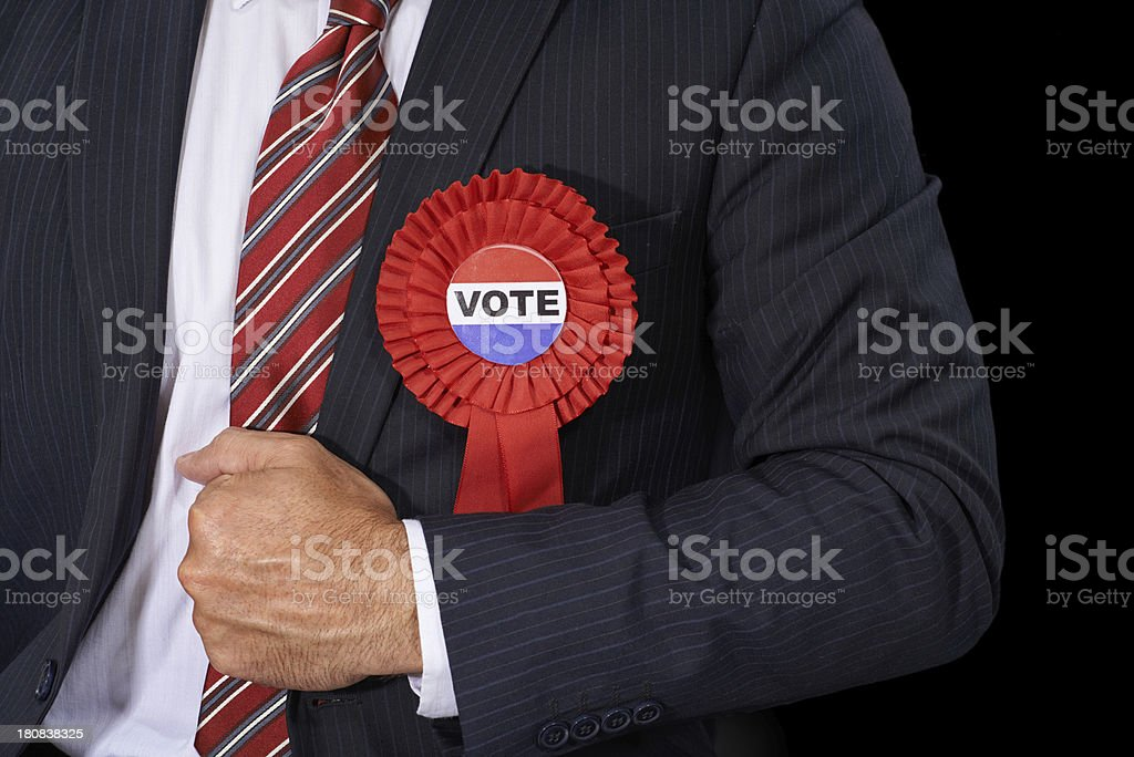 Use your votes wisely stock photo