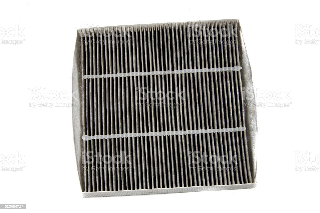 Used air filter stock photo