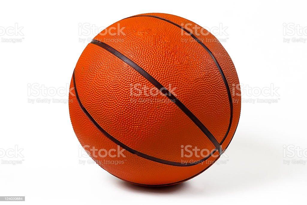 Used Basketball royalty-free stock photo