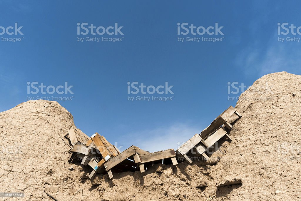 Used Boxes royalty-free stock photo