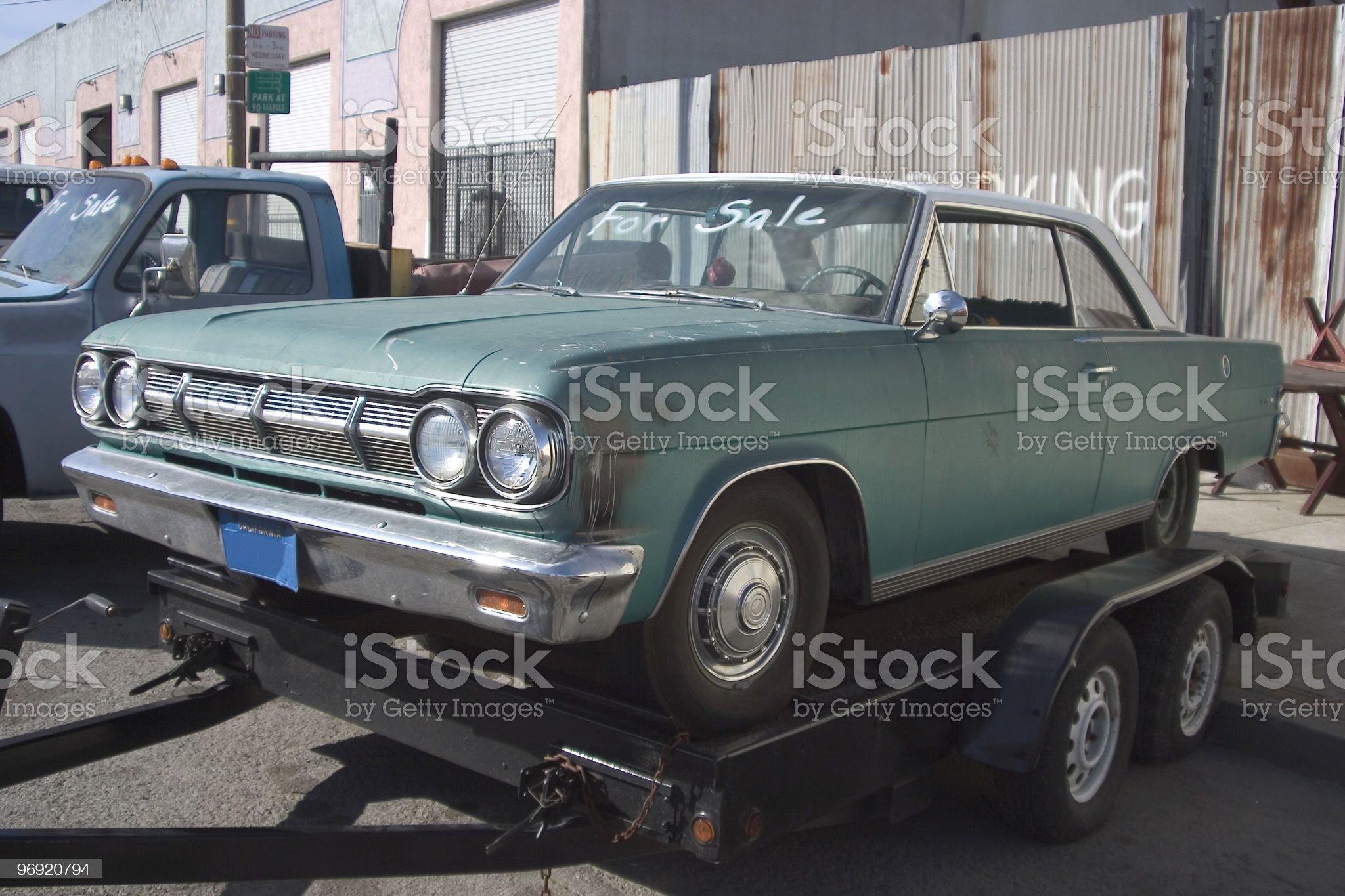 Used Car royalty-free stock photo