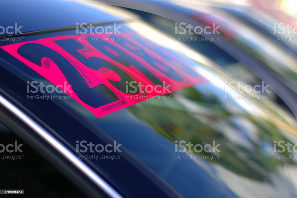 Used Cars stock photo