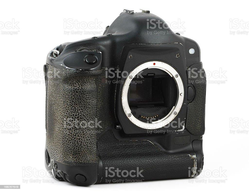 used dslr body stock photo
