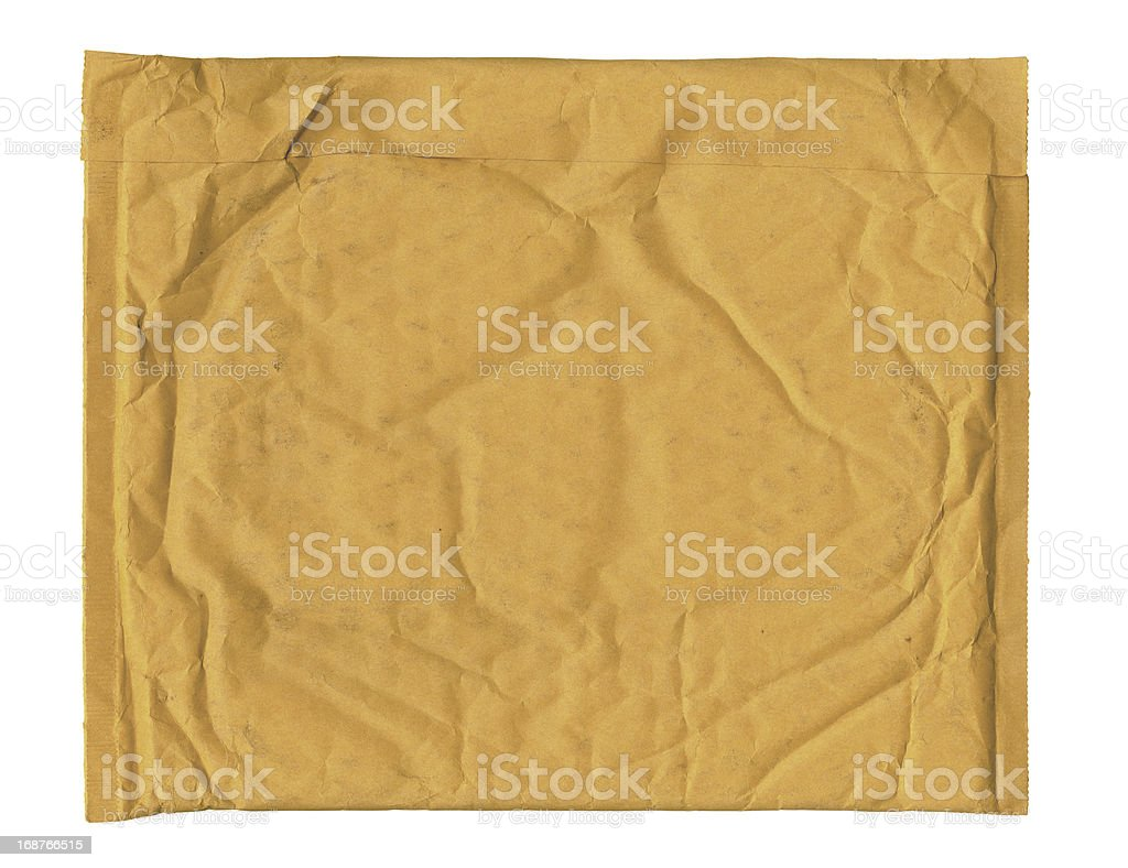 Used Padded Envelope XXL stock photo