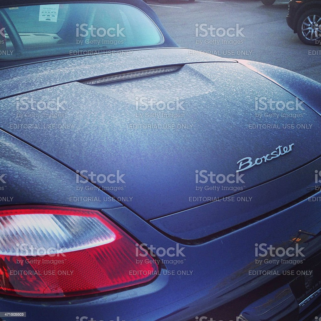 Used Porsche Boxster stock photo