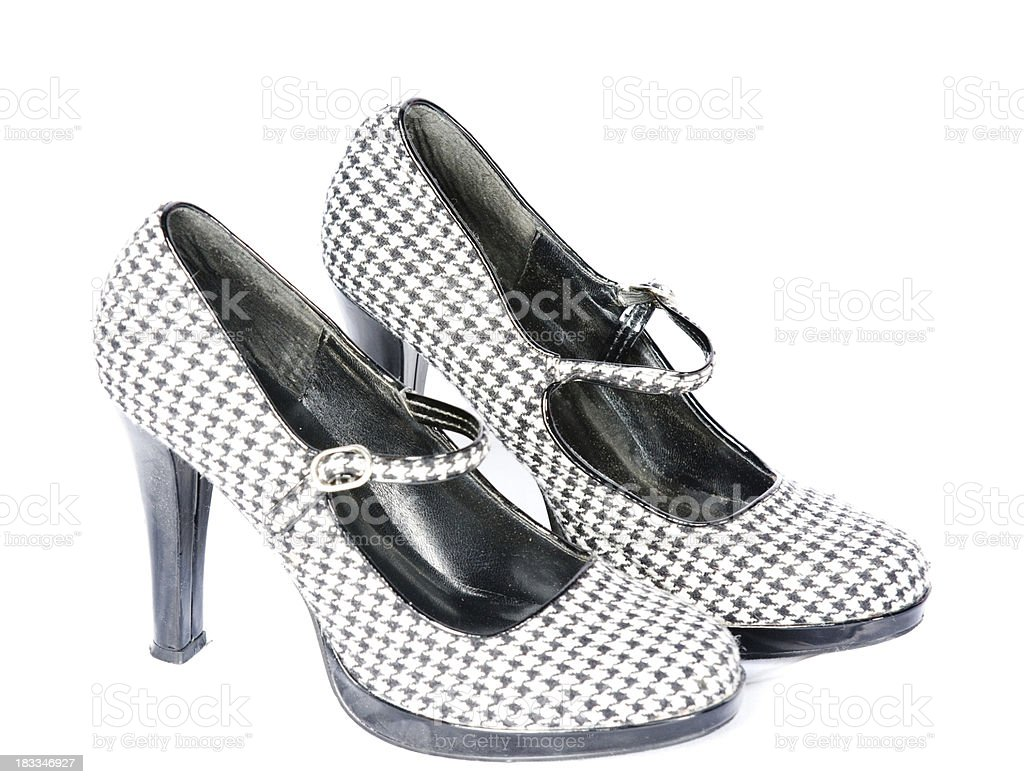 Used shoes royalty-free stock photo