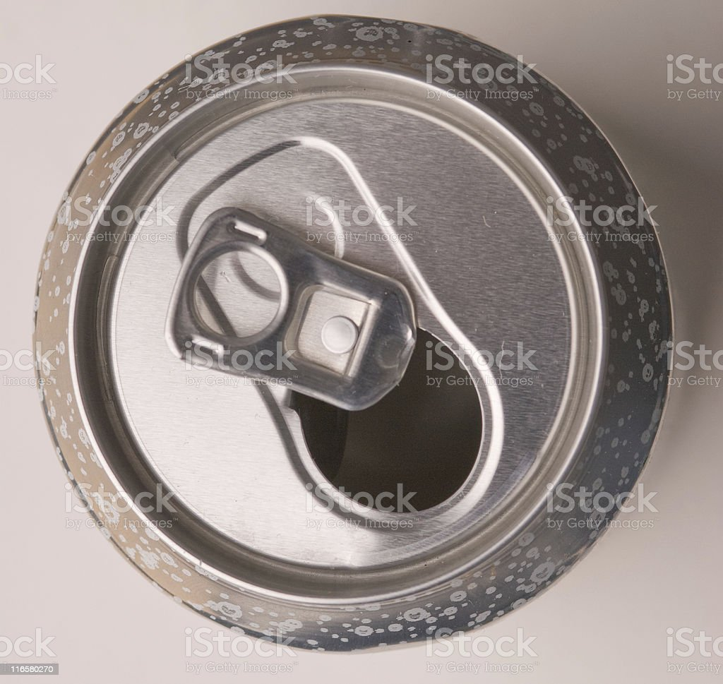 Used Soda Can royalty-free stock photo