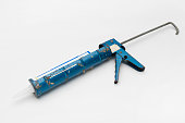 Used tools Caulking gun
