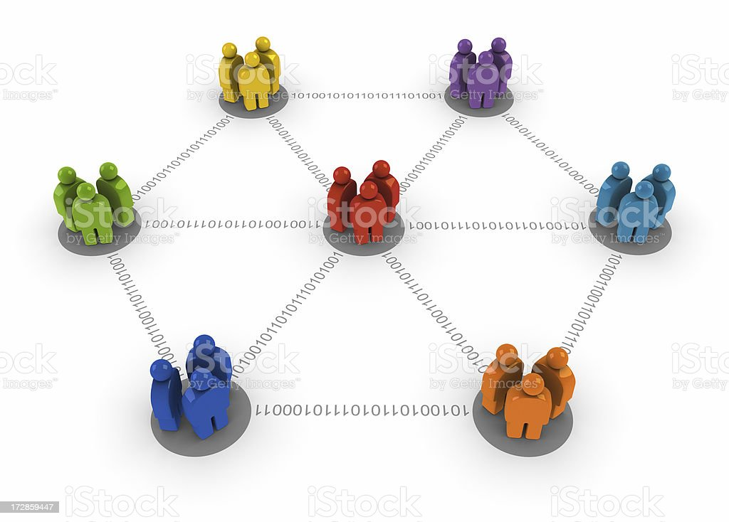 User group network royalty-free stock photo