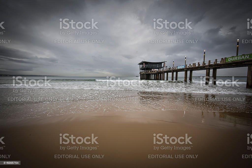 uShaka Pier stock photo