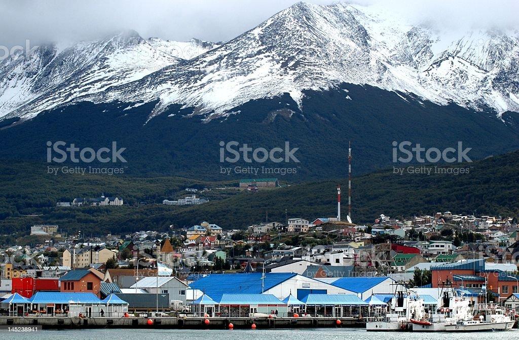 Ushuaia, Argentina stock photo