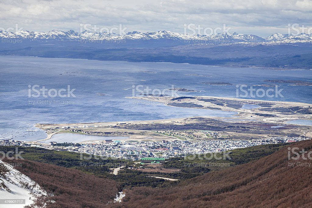 Ushuaia, Argentina. stock photo
