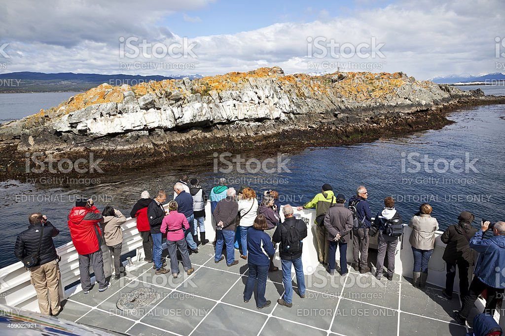 Ushuaia Beagle Channel stock photo