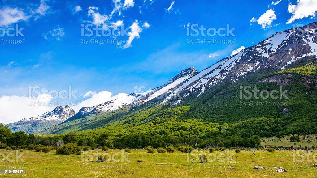 Ushuaia National Park, Argentina stock photo