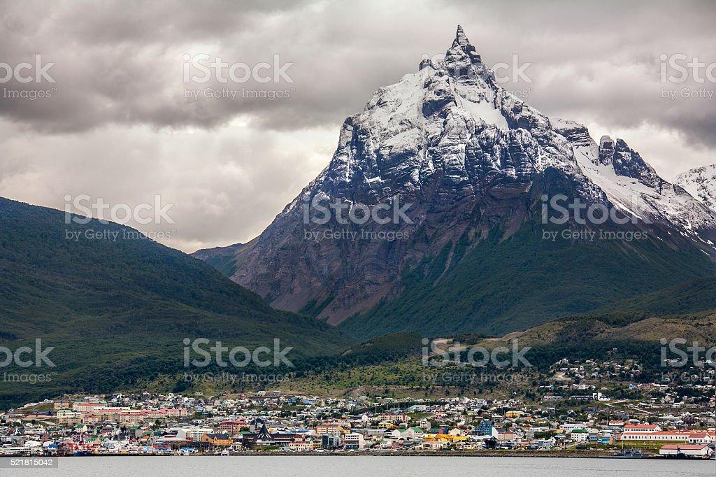 Ushuaia - Patagonia - Argentina stock photo