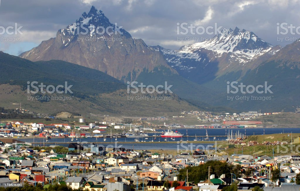 Ushuaia royalty-free stock photo