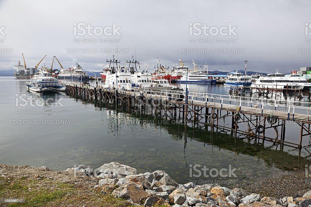 Ushuaia royalty-free stock photo