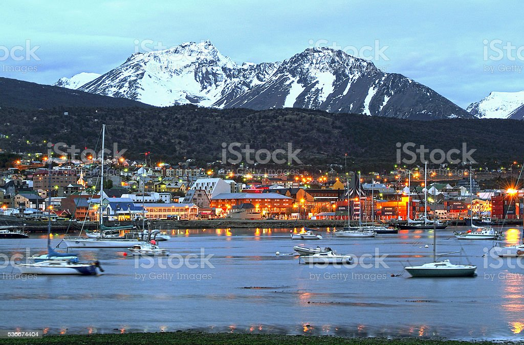 Ushuaia (Tierra del Fuego) stock photo