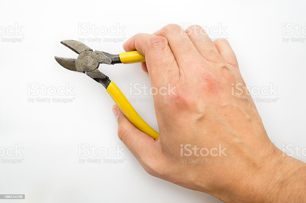 using nippers stock photo