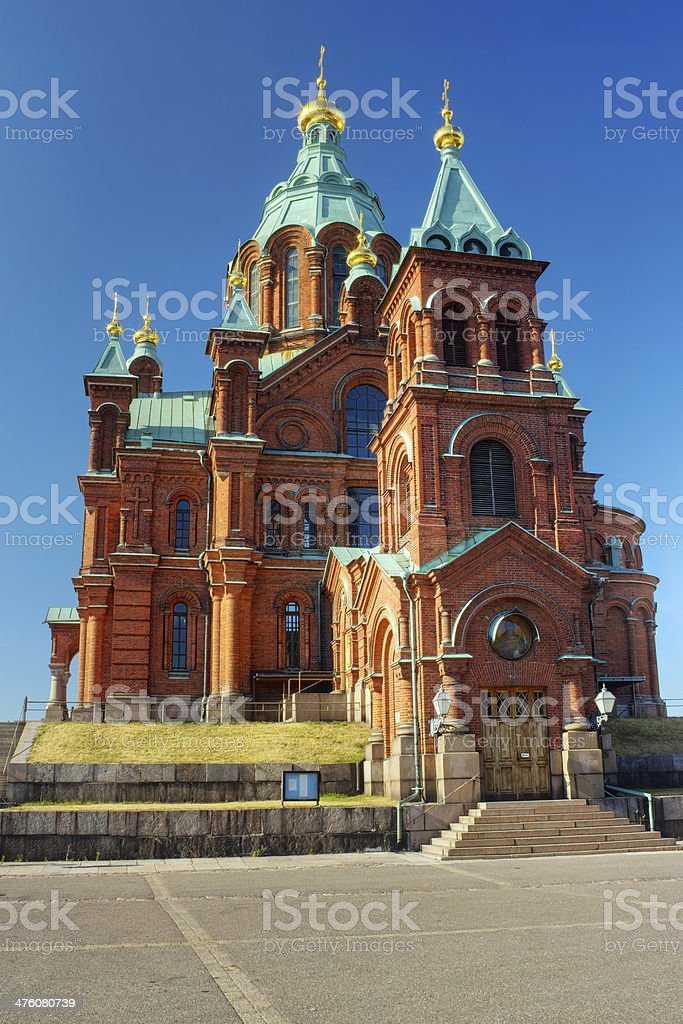 Uspenski Cathedral curch royalty-free stock photo