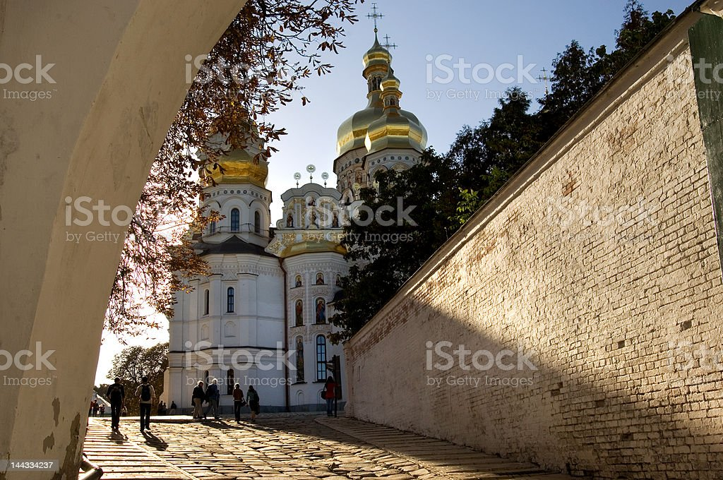 Uspensky cathedral royalty-free stock photo