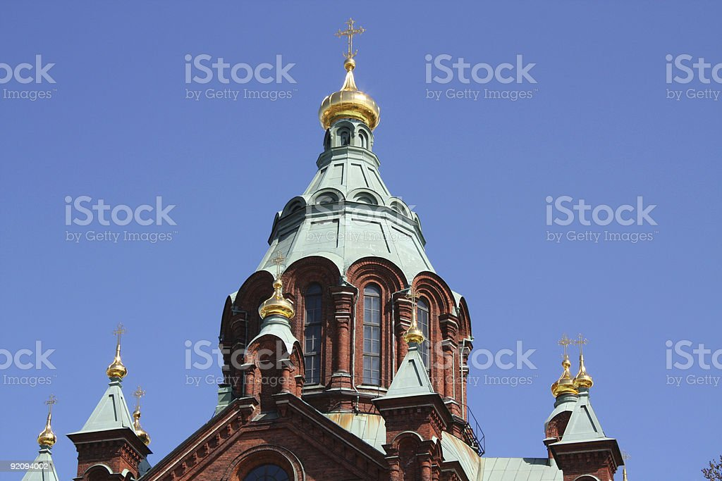 Uspensky Cathedral royalty-free stock photo