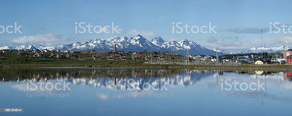 Usuaia Patagonia stock photo
