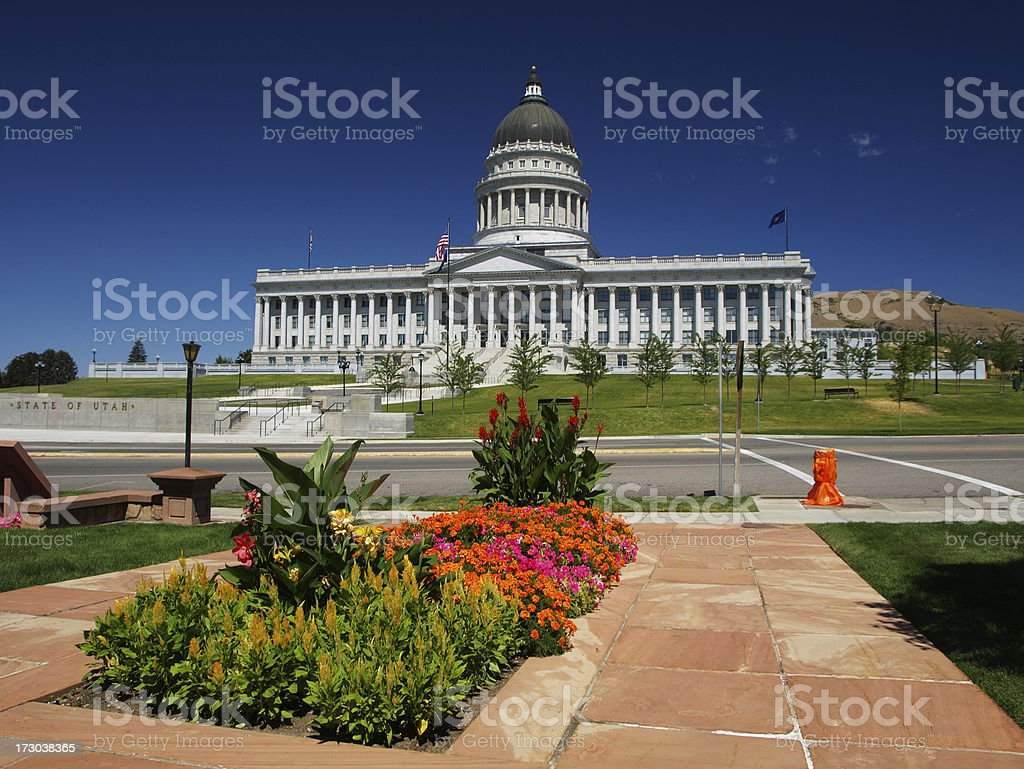 Utah Capitol royalty-free stock photo