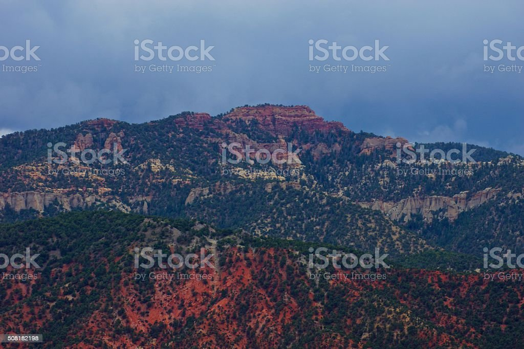 Utah Fire Rock stock photo