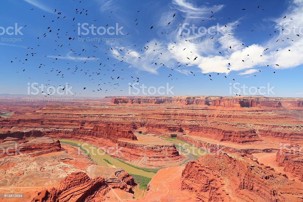 Utah landscape stock photo