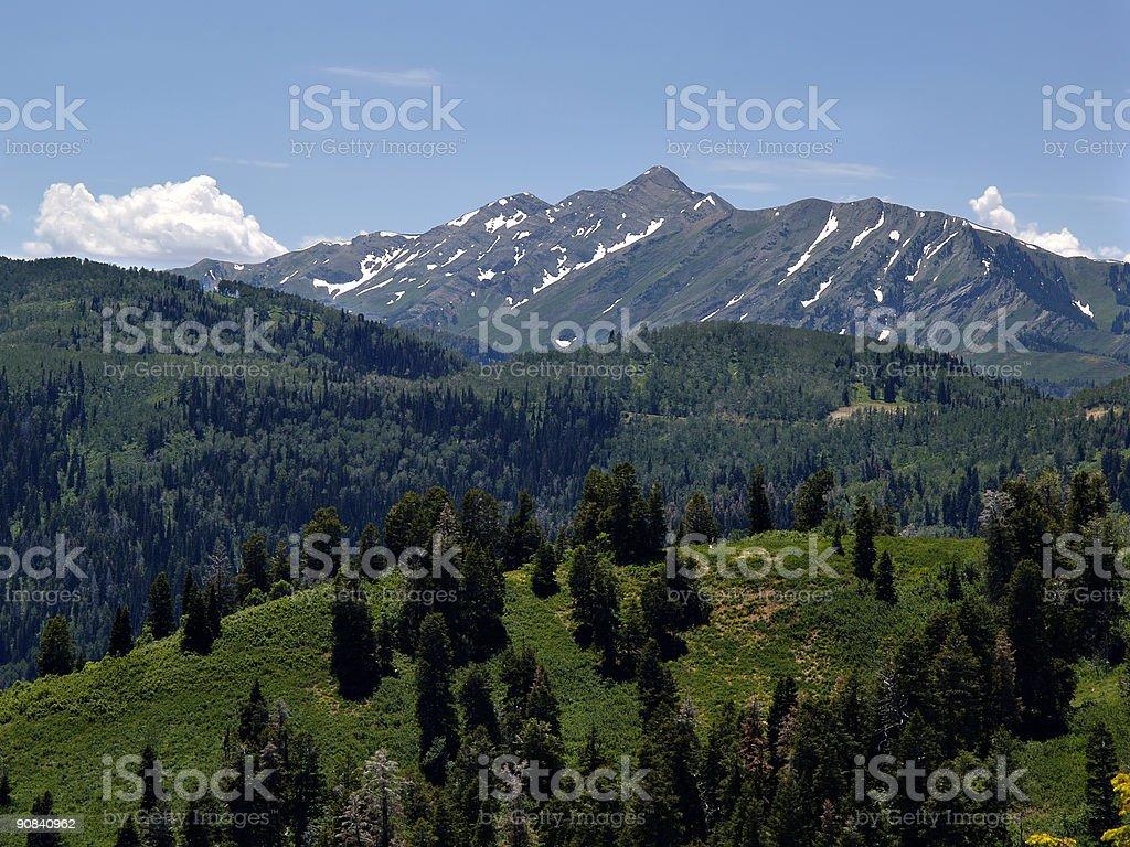Utah Mountain - 2 royalty-free stock photo