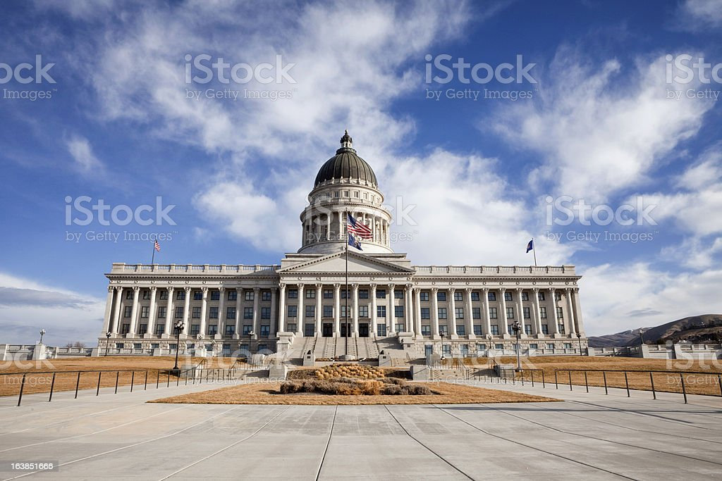 Utah State Capitol Building stock photo