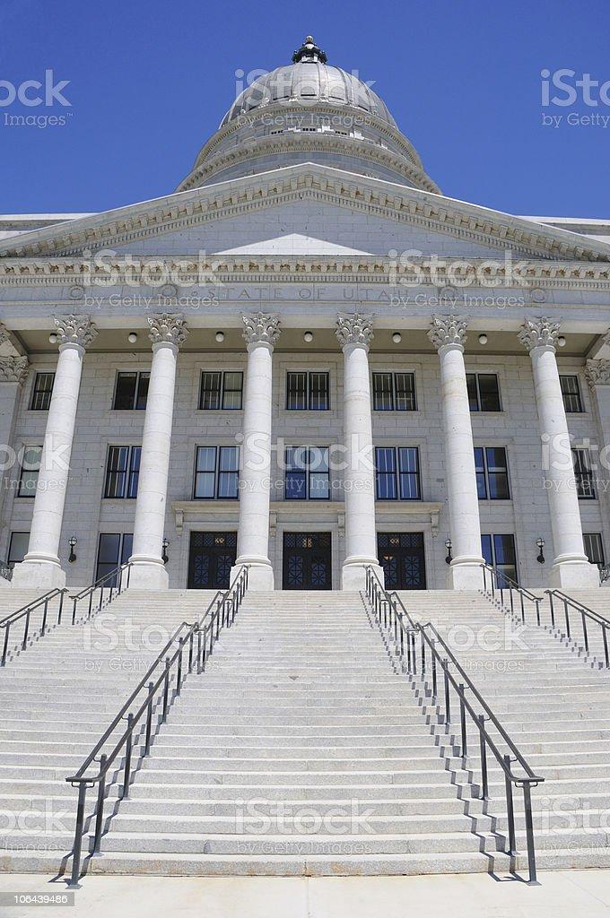 Utah State Capitol royalty-free stock photo