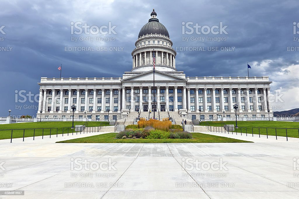 Utah State Capitol Salt Lake City USA royalty-free stock photo